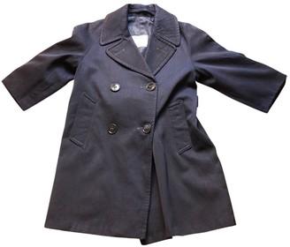 Harrods Navy Wool Jackets & Coats