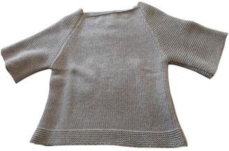 Mauro Grifoni Ecru Wool Knitwear for Women