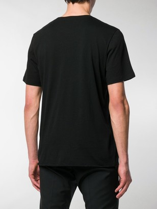 Saint Laurent logo constellation print T-shirt
