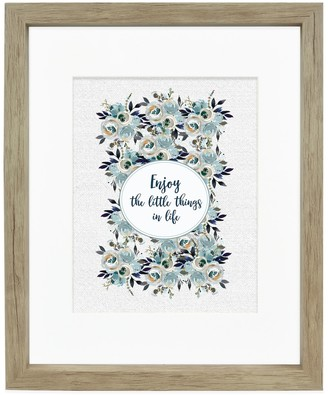 Belle Maison Natural Matted Wall Frame