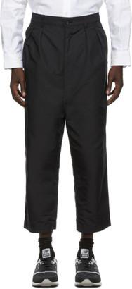 Comme des Garçons Homme Black Oxford Wide-Leg Trousers