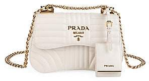 Prada Women's Diagramme Leather Shoulder Bag
