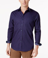 Tasso Elba Men's Mini Paisley Print Shirt, Only at Macy's