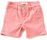Levi's Baby Girls 12-24 Months Summer Love Shorty Shorts