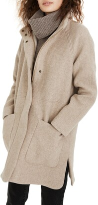 Madewell Estate Cocoon Insuluxe Fabric Coat