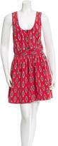 Steven Alan Printed Mini Dress