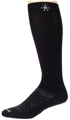 Smartwool PhD(r) Ski Ultra Light (Black) Crew Cut Socks Shoes