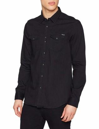 Replay Men's M4998 .000.154 411 Denim Shirt