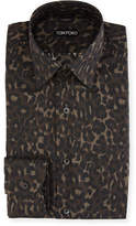 Tom Ford Jaguar Camouflage Dress Shirt