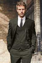 Mens Next Green Skinny Fit Textured Suit: Jacket - Green