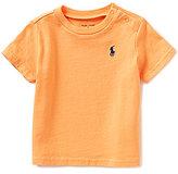 Ralph Lauren Baby Boys 3-24 Months Solid Short-Sleeve Jersey Tee