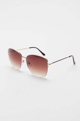 Urban Outfitters London Metal Square Sunglasses