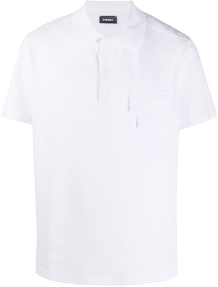 Diesel Flap-Pocket Polo Shirt