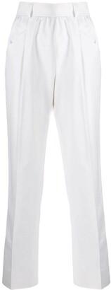Yves Saint Laurent Pre Owned 1980's Straight-Leg Trousers