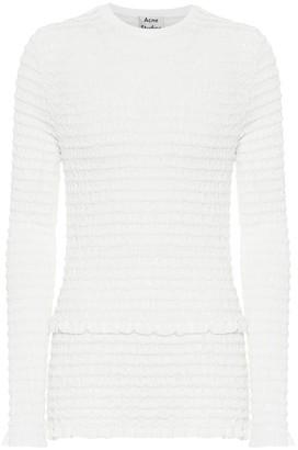 Acne Studios Cotton-blend top