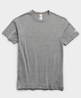 Todd Snyder + Champion Champion Basic Jersey Tee in Salt and Pepper