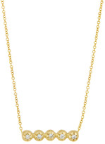 Logan Hollowell - New! Star Line Star Set Diamond Necklace 5615892419