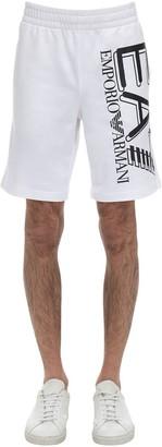 Emporio Armani Ea7 Train Logo Bermuda Shorts