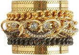Arden B Chain Link Rhinestone Cuff