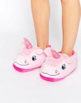 Loungeable Pink Unicorn Slipper