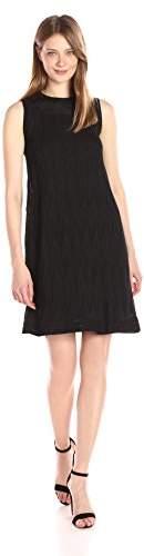 M Missoni Women's Solid Zig Zag Aline Dress