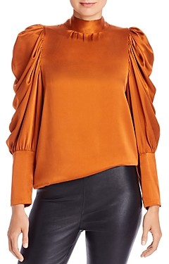 Notes Du Nord Notes du Nord Missy Balloon Sleeve Silk Blouse