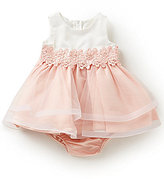Rare Editions Baby Girls 3-24 Months Colorblock Tulle Dress