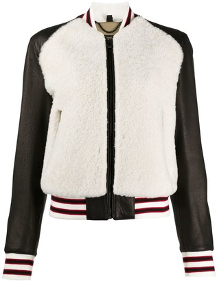 Belstaff Shearling Bomber Jacket