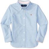 Ralph Lauren 2-6X Cotton Oxford Shirt