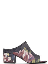 3.1 Phillip Lim Blue Floral Cube Sandals