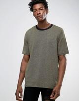 Asos Knitted T-Shirt In Metallic Yarn