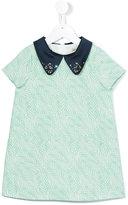 Hucklebones London - Palm Shift dress with Swarovski - kids - Cotton/Polyester - 2 yrs