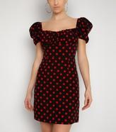 New Look NaaNaa Spot Puff Sleeve Dress