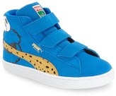 Puma Suede Sesame Street - Cookie Monster High Top Sneaker (Toddler & Little Kid)