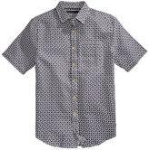 Sean John Men's Short Sleeve Print Shirt