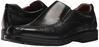 Johnston & Murphy Waterproof XC4 Stanton Panel Toe Slip-On (Black Waterproof Full Grain) Men's Slip-on Dress Shoes