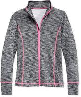 Ideology Melange Active Zip-Up Jacket, Big Girls (7-16), Only at Macy's