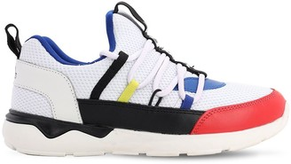 Karl Lagerfeld Paris Cotton Blend Canvas Sneakers
