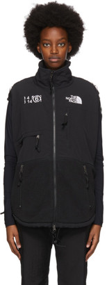 MM6 MAISON MARGIELA Black The North Face Edition Fleece Circle Sweater
