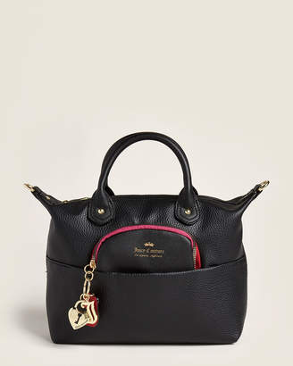 Juicy Couture Black Charm School Satchel