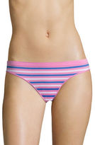Design Lab Lord & Taylor Bikini Seamless Multi Stripe Briefs