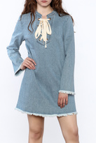 Sugar Lips Raw Denim Dress
