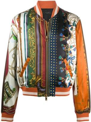 Amiri Patchwork Print Bomber Jacket