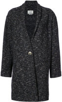 Etoile Isabel Marant shawl coat - women - Cotton/Polyester/Alpaca/Virgin Wool - 36