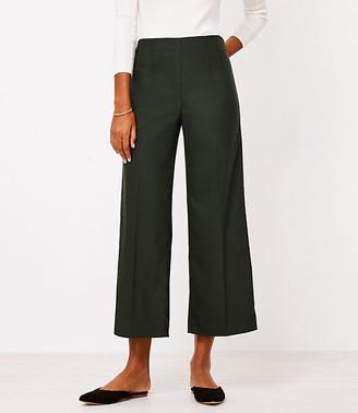 LOFT Tall Wide Leg Crop Pants