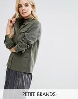 Miss Selfridge Petite Military Jacket
