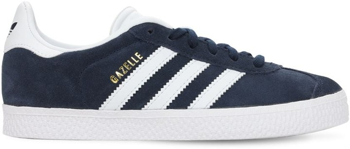 Gazelle Suede Lace-Up Sneakers