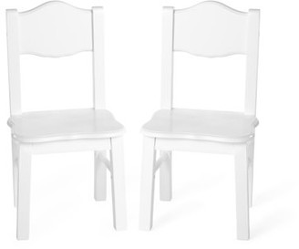 Guidecraft Classic Extra Chairs (Set of 2) - White