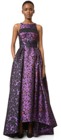 J. Mendel Ball Gown with Paneled Bodice