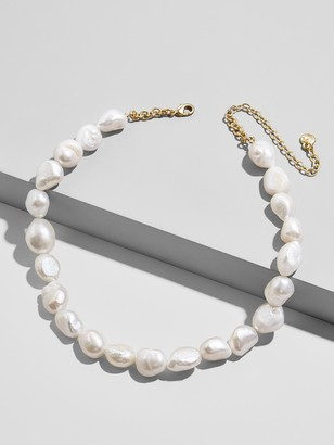 BaubleBar Lacey Pearl Statement Necklace